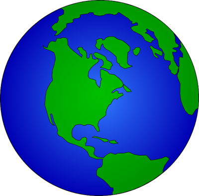 Earth photo from Pixabay