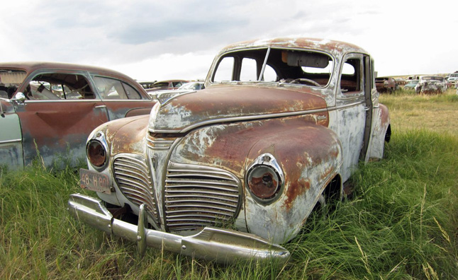 Rusting Plymouth Special Deluxe