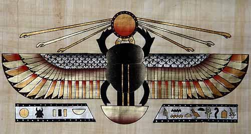 DungBeetle.Scarab-Egyptian-idolatry