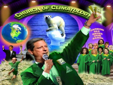 GlobalWarming-ChurchofClimatology.AlGore-cartoon