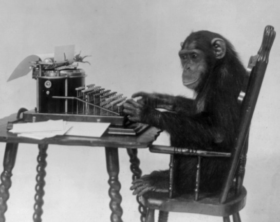 Monkey-typing.BW